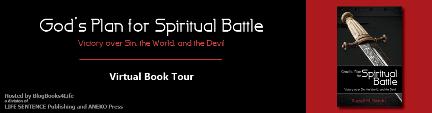 God's Plan for Spiritual Battle - Blog Tour Banner - Small